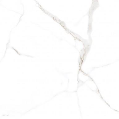 Carrara white polished 60x60