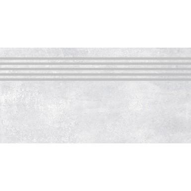 Cemento Silver Lappato Stopnica 30X60